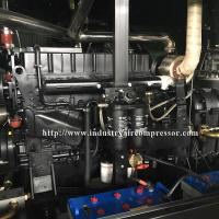 Diesel Driven Screw Air Compressor Easy Serviceability For Water Well Drilling Rig