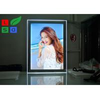 LED Acrylic Magnetic Light Box A1 Format Size With Steel Bolts For Indoor Graphic Display Manufactures