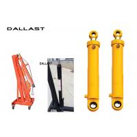 Quality Chromed Hydraulic Hoist Cylinder ertical Mast Lifts Stroke 800 mm for sale