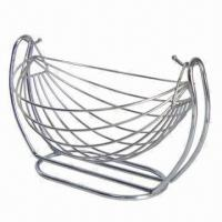 Stainless Steel Fruit Basket, Can be Used to Hold Vegetables of Fruits, Available in Various Designs Manufactures