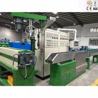 High Capacity Wire And Cable Machinery / Power Cable Jacket Extrusion Line Manufactures
