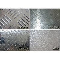 Polished Aluminium Checker Plate , Commercial Grade 5052 Aluminum Sheet Manufactures