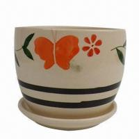 Ceramic Flower Pot, Home Decoration, Houseware, OEM Orders are Welcome Manufactures