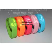 Fashion Colorful Digital Watch Waterproof Wristwatch Rubber Band Manufactures