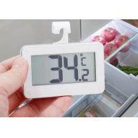 China ABS Plastic Refrigerator Freezer Thermometer With Large LCD Display Screen on sale