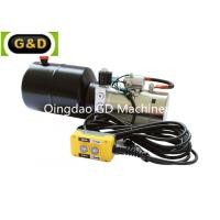 Horizontal Mounting DC 12V Hydraulic Power Unit with Manual Override Manufactures