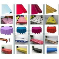 China TABLECLOTH,PVC,PE,PEVA,COVER,SHEET,DOOR COVER,MAT,POSTER,SHOWER CURTAIN,,POLYESTER,DRAWER MAT,COASTER BAGEASE BAGPLASTIC on sale