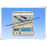 Small Plastic Surgical First Aid Kits For Car / Travelling Emergency Manufactures