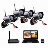 USB Network Digital Wireless Camera Kit with Remote Surveillance and Motion Detection Manufactures