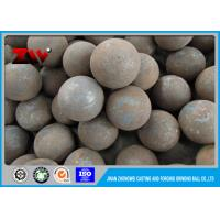 Industrial B3 Forged Steel Grinding Media balls for limestone grinding Manufactures