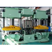 300 Ton Clamp Force Vacuum Compression Rubber Molding Machine With Hydraulic And Power Motor Manufactures