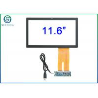 11.6 inch Industrial Projected Capacitive (PCAP) Touchscreen Panel With EETI controller EXC80H4254 Manufactures