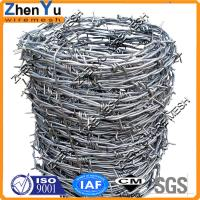Top 12x12 14x14 12x14 hot dipped galvanized barbed wire(Manufacturer Since 1998,Cheap price per roll,High quality) Manufactures