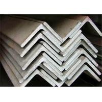 Hot Rolled Stainless Steel Equal Angle 90 Degree Customized Length Manufactures