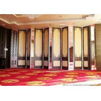 China Steel Track Room Partition Wall , Top Hung Sliding Room Partitions Durable on sale