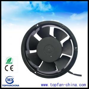 Ball Bearing 7 Blade 220V Commercial Ventilation Fans 172x172x51mm