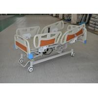 CPR Function Clinic Electric Bed With collasible ABS Side Rails Manufactures