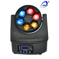 China 6pcs 15W RGBW 4 in1 Bee Eye Led Moving Head Beam Light Stage LED Lighting on sale