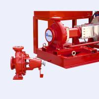 UL Listed  FM Approved 300gpm @125psi Electric Motor Driven Fire Pump Set with Jockey Pump Manufactures
