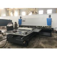 Horizontal Steel Plate Shearing Machine Guillotine For Cutting Metal 8x3200mm Manufactures