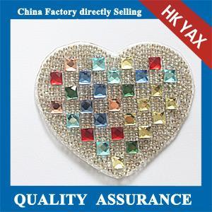 Rhinestone patch, hotfix rhinestone motif,hotfix rhinestone patch, wholesale patches for clothing Manufactures