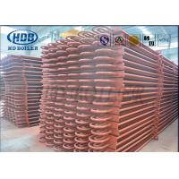 ASME Standard Hot Water Boiler Stack Economizer Economiser Tubes Anti Corrosion Manufactures