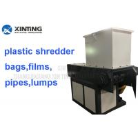 Low Noise Waste Plastic Single Shaft Shredder For Plastic Films Pp Woven Bags for sale