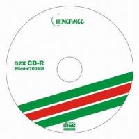 Blank CDR Discs with Virgin Material and Good Quality Manufactures