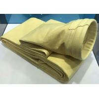 FMS High Temperature Filter Bag For Cement Plant 130*5200mm With PTFE Membrane Coated Manufactures
