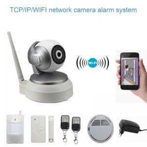 Smart Wifi IP Camera , TCP / IP / WIFI CCTV Camera App Control Manufactures