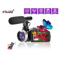 China 30 FPS 3'' Touch LCD Screen Video Camera Camcorder 2.7K 30MP 18X Digital Zoom IR Night Version on sale
