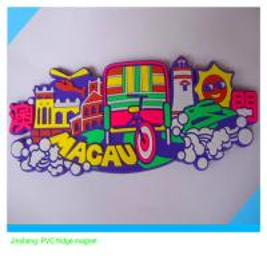 China souvenir promotional  soft PVC fridge magnet sticker on sale