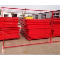 China 4-6 Height Powder Coated PVC Temp Fence Panels For Construction Site on sale