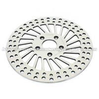 Mirror Polished Harley Davidson Parts Front Stainless Steel Brake Rotors Manufactures