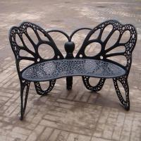 Eco - Friendly European Metal Garden Table And Chairs Ends For Hotel / Balcony Manufactures