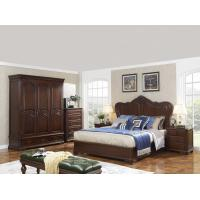 Quality King size Wooden Beds with Bespoke Armoire in Villa and Hotel furniture FF&E solution fixture with Spring mattress for sale