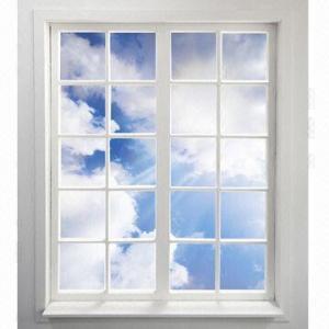 US PVC/UPVC/Plastic-steel/Aluminum Double Leaf Casement Window and Door (2 or 3 Sash) Manufactures