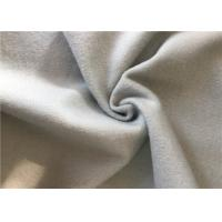 Professional Wool Upholstery Fabric , Wool Crepe Fabric Light Weight Manufactures