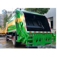 Dongfeng Double Axle Garbage Removal Truck 6cbm-10cbm 6550*2090*2580 Mm Dimension Manufactures