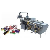 380V 50Hz Chocolate Foil Wrapping Machine With Strike Band And Sealing Manufactures