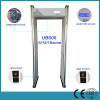 China Multi Zone Airport Security Archway Metal Detector Door , Walk Through Safety Gate on sale