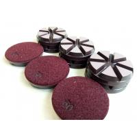 Ceramic Bond Transitional Dry Concrete Polishing Pads Diameter 3 Inch Manufactures