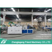 Double Screw Plastic Tube Making MachinePvc Pipe Maker For Water Supply / Drain Pipe Manufactures