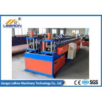 Smooth Steel Profile Roll Forming Machine Stable 3kW Hydraulic Station Power Manufactures