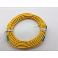 Simplex Fiber Optic Patch Cable SC APC-SC 3.0-5M Excellent Repeatability Manufactures