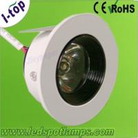 Buy cheap Highy Efficiency and Energy - Saving 1w 80Lm 3000K Recessed Led Ceiling from wholesalers