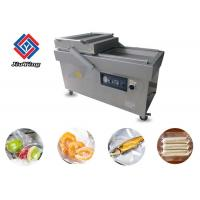 Double Head Automatic Vacuum Packing Machine For Meat Or Vegetable Manufactures