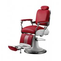 Red antique barber chair for hair shop;Popular beauty salon furniture;hot sale hair salon equipment for sale Manufactures