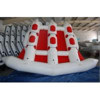 China Red 380cm Length Six Person Inflatable Flying Fish Boat With 10 Chamber on sale