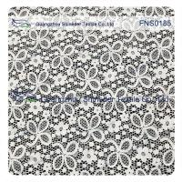 Elastic Lace Fabric of Spandex & Nylon with Clover Flower Pattern Manufactures